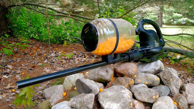 DIY Cheese Ball Machine Gun by NightHawkInLight