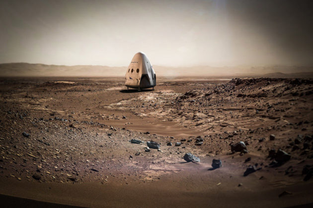 SpaceX Wants Crewless Rocket To Land On Mars in 2018