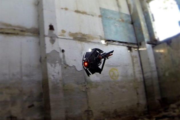 Flying RC Half-life City Scanner Drone by Valplushka