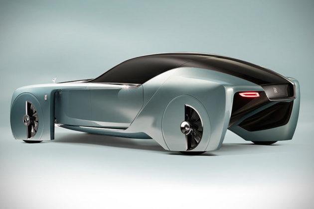 Rolls-Royce VISION NEXT 100 Autonomous Concept