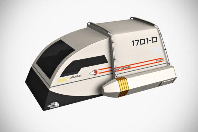Star Trek Shuttlecraft Tent Concept by Dave Delisle