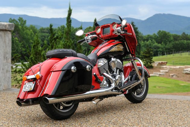 2017 Indian Motorcycle Chieftain with Ride Command