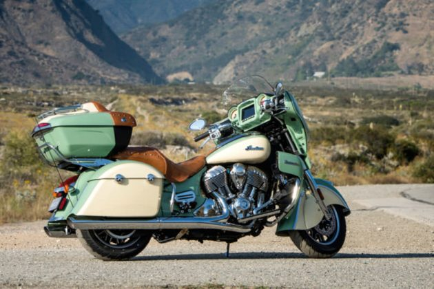 2017 Indian Motorcycle Roadmaster with Ride Command