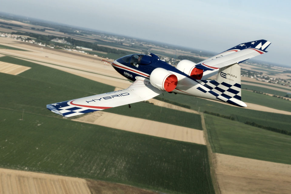 This Is Airbus Experimental Electric Aircraft It Is The
