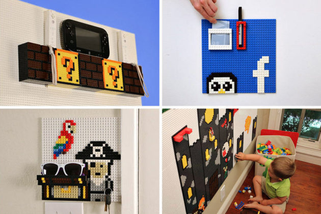 Brik Tile LEGO Compatible Wall Tiles
