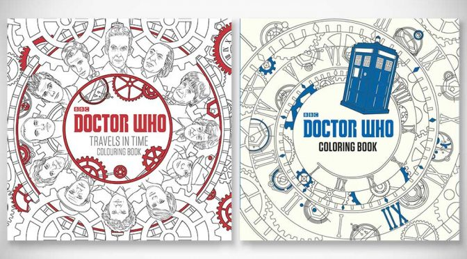 Adult Coloring Book Phenomena Has Finally Catches Up With <em>Doctor Who</em>