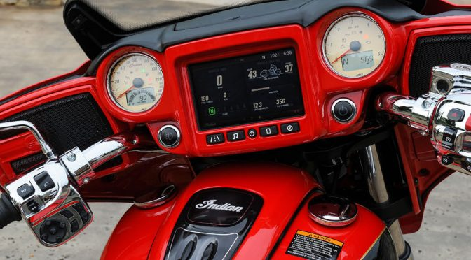 Indian Motorcycle Ride Command Infotainment-System