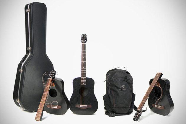 KLOS Guitars 2.0 Carbon Fiber Travel Guitar