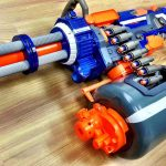 Guy Reimagined NERF Vulcan Into A Fast Foam Dart-spitting Gatling Gun