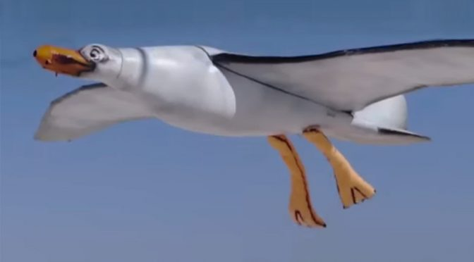 Nivea Seagull Drone Poops Sunscreen On Children