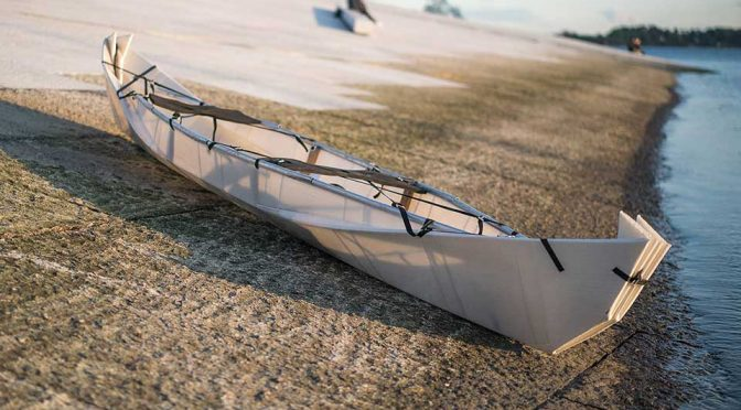 Foldable Canoe Turns Into A Rolling Suitcase For Traveling The World