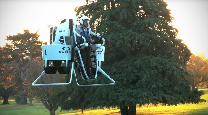 Bubba Watson's Game Reaches New Heights With A Jetpack Golf Cart
