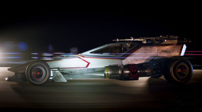 Real Life Hot Wheels X-Wing Car