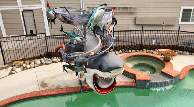 Sharknado Water Slide Super Fan Builds