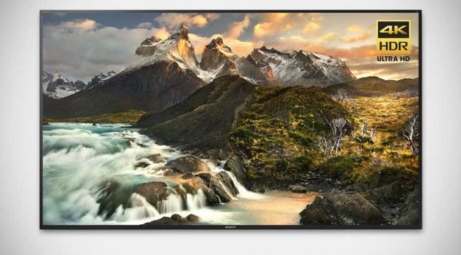 Sony Z Series 4K HDR Ultra HD TV