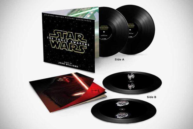 Star Wars: The Force Awakens Soundtrack 2 LP Hologram Vinyl