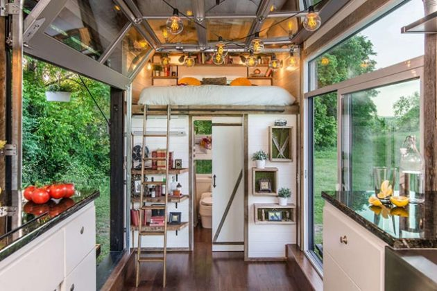 The Alpha Tiny Home by New Frontier Tiny Homes