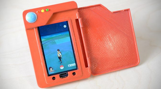 Real Life Pokédex Is A Smartphone Case That Is Also A Battery Charger