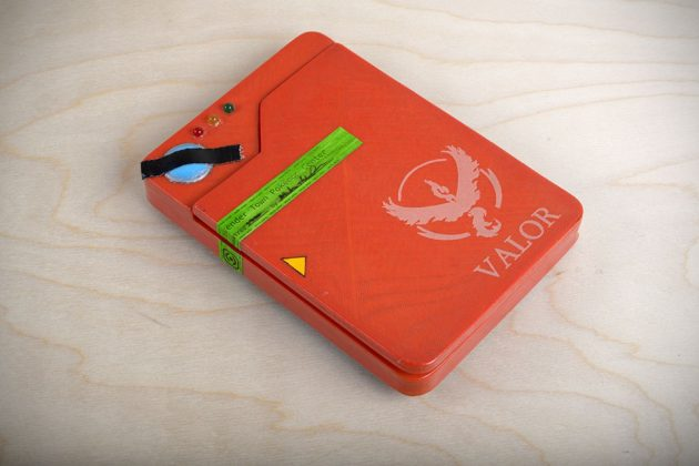 The Pokédex Smartphone Battery Case by NPOOLE
