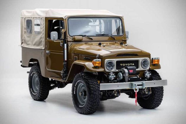 Toyota Land Cruiser FJ 'Copperstate Overland Edition'