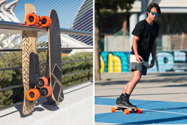 Unlimited's Eon Electric Skateboard Powertrain