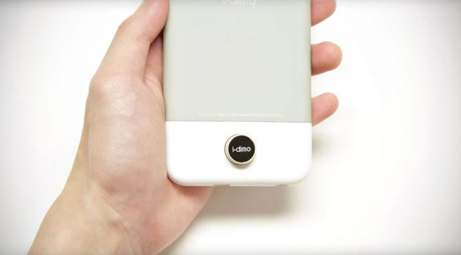 i.dime Magnetic Dime-sized iPhone Storage Expansion
