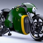 Never Ridden 2014 Lotus C-01 Motorcycle To Go Under The Hammer