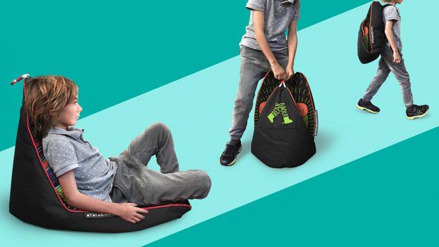 Bean About Go Anywhere Foldable Beanbag