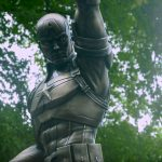 <em>Captain America</em> Bronze Statue Blurs The Line Between Fiction And Reality