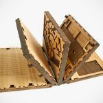 This Mechanical Puzzle Book Has Just Five Pages But It Won't Be An Easy Read