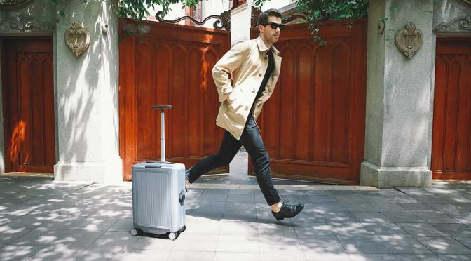 Self-driving Comes To Suitcase, Makes Pulling Suitcase A Thing Of The Past