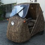 Craftsman Built Bamboo Electric Car, Plans To Take It On A 620 Miles Journey