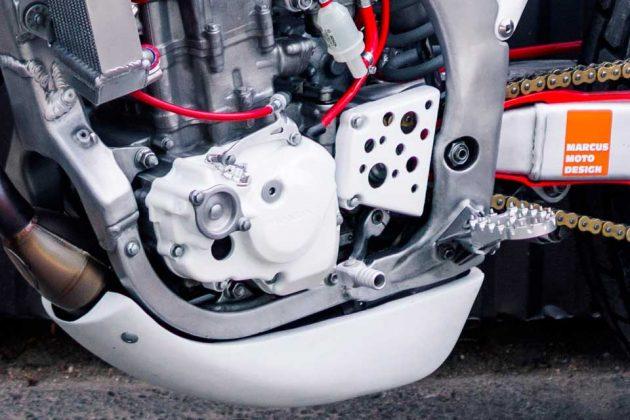 Custom Honda Tracker by Marcus Moto Design