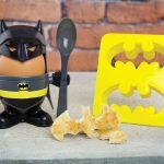 <em>Batman</em> Egg Cup Makes An Egg Looks Like Humpty Dumpty in <em>Batman</em> Costume