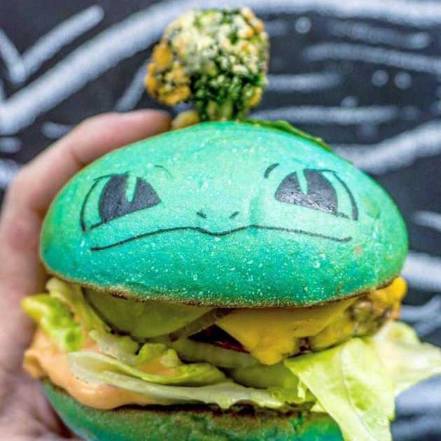 Down N' Out Pokéburgs Pokémon-inspired Burgers