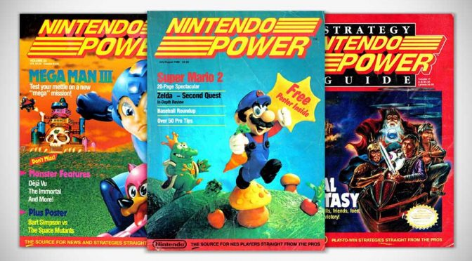 First 145 issues of Nintendo Power Magazines