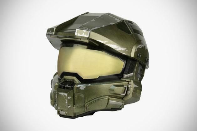 Halo Master Chief Motorcycle Helmet Replica