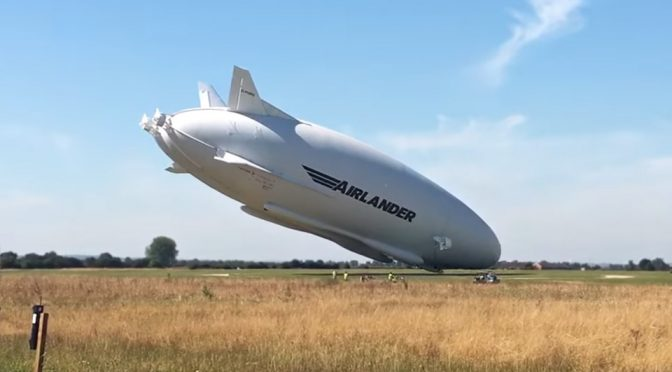 Hybrid Air Vehicles Airlander 10 Heavy Landing