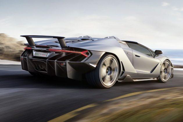 Lamborghini Centenario Roadster Supercar