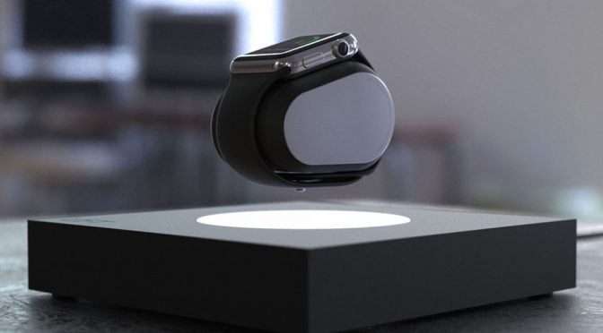 Elevate Your Charging With This Levitating Smartwatch Charger