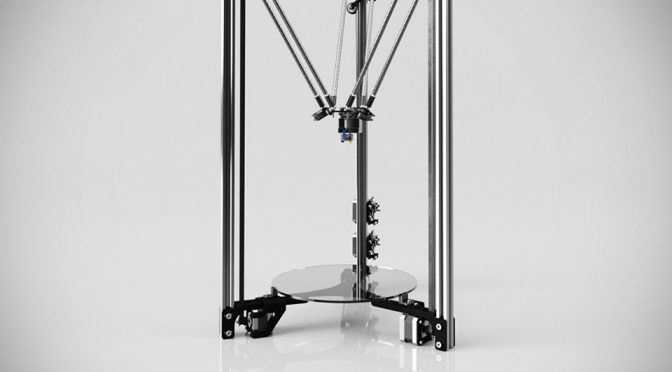 Metal Delta 3D Printer by Blue Eagle Labs