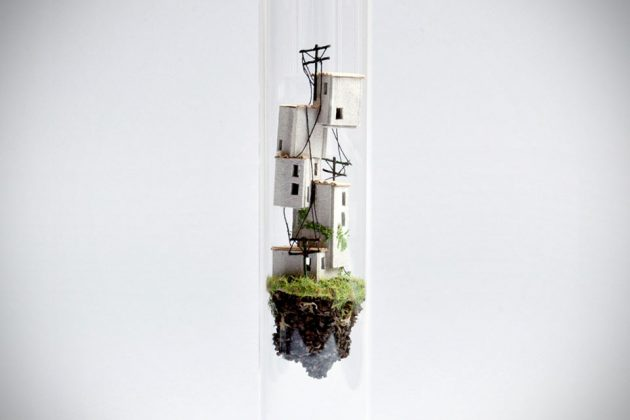 Micro Matter Miniature Floating World In Test Tube