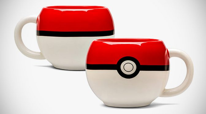 Officially Licensed <em>Pokémon</em> Ball Mug Is Cool But Not Fit For Throwing