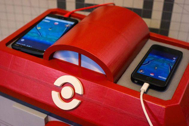 Pokémon Center Solar-powered Charging Station