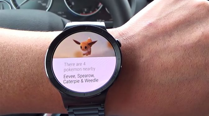 <em>Pokémon Go</em> Detector On Android Wear Lets You Catch Em'all Like A Pro