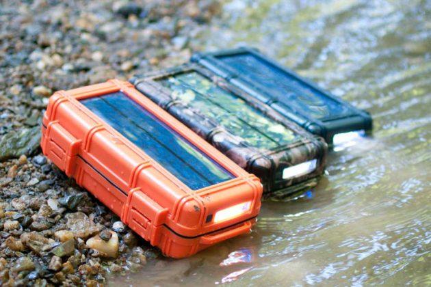 RokPak Pioneer Series Solar Battery Drybox