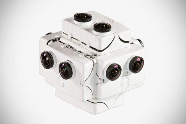 SpaceVR Overview One Virtual Reality Camera