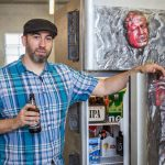 Glowing Han Solo In Carbonite Makes This The Coolest Fridge Ever