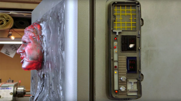Star Wars Han Solo In Carbonite Refrigerator By Frank Ippolito