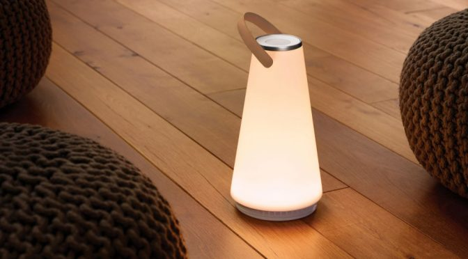 UMA Sound Lantern Portable Speaker and Lamp